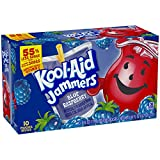 Kool-Aid Blue Raspberry Jammers, 10 Count (Pack of 4)