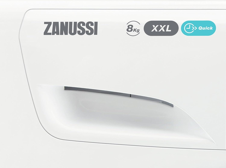 Zanussi ZWF81663W Independiente Carga frontal 8kg 1600RPM A+++ ...