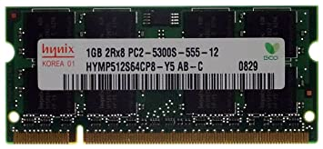 Hynix HYMP512S64CP8-Y5 AB PC2-5300S-555-12 ID10917 - Módulo de