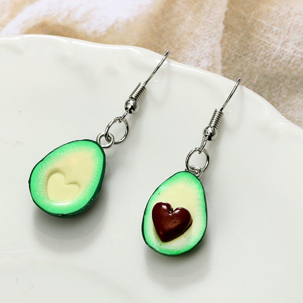 clés l/'amitié collier avec boucle d/'oreille green avocat pendentif porte clés