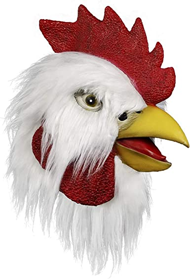 For Halloween Cock Rooster Chicken Hat Party Costume For Free Size Gift Present