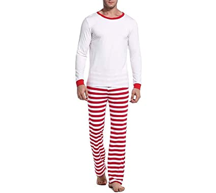 can t be satisfied Long Sleeve Pajama Sets Striped Soft Men ... 43182ac90