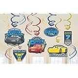 Amscan Cars 3 Swirl Value Pack