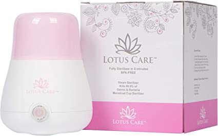 Amazon.com: iHoans Lotus Care - Esterilizador de taza ...