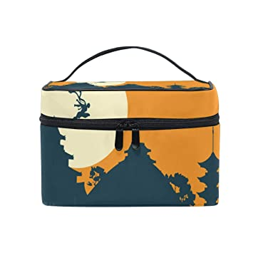Amazon.com : Ninja Warrior 2 Portable Cosmetic Bags Travel ...