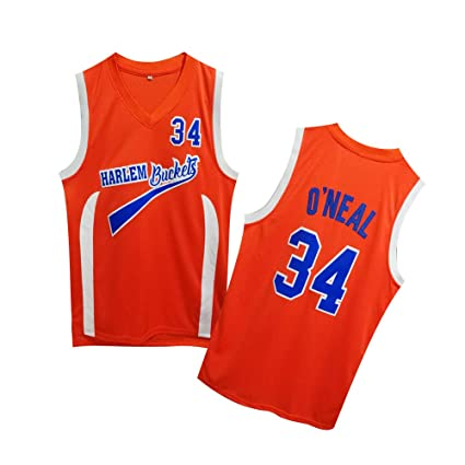 premium selection 13e92 0040b Amazon.com : HARLEM Buckels Uncle Drew #34 Basketball Jersey ...