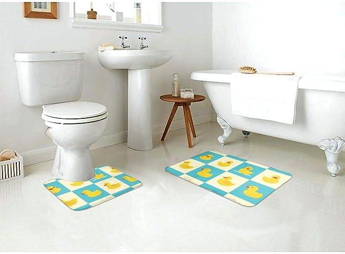 Color : A, Taille : S NYKK Tapis de Baignoire Canard Mignon Petit Jaune Salle de Bain Baignoire Tapis de m/énage Salle de Bain Salle Tapis Enfants Tapis Tapis de Toilettes Accessoires de Baignoire