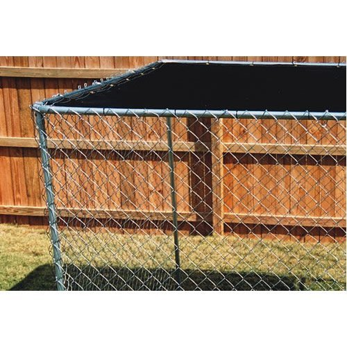 Dog Kennel Shade Cover/fence privacy screen Royal Blue 5'8''x12' (COVER ONLY)