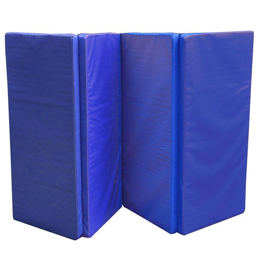 AUFUN Faltende Yogamatte Tragbar Klappbar Gymnastikmatte Faltmatte für Fitness, Pilates, Yoga,Rutschfest,wasserdicht,frei von Schadstoffen