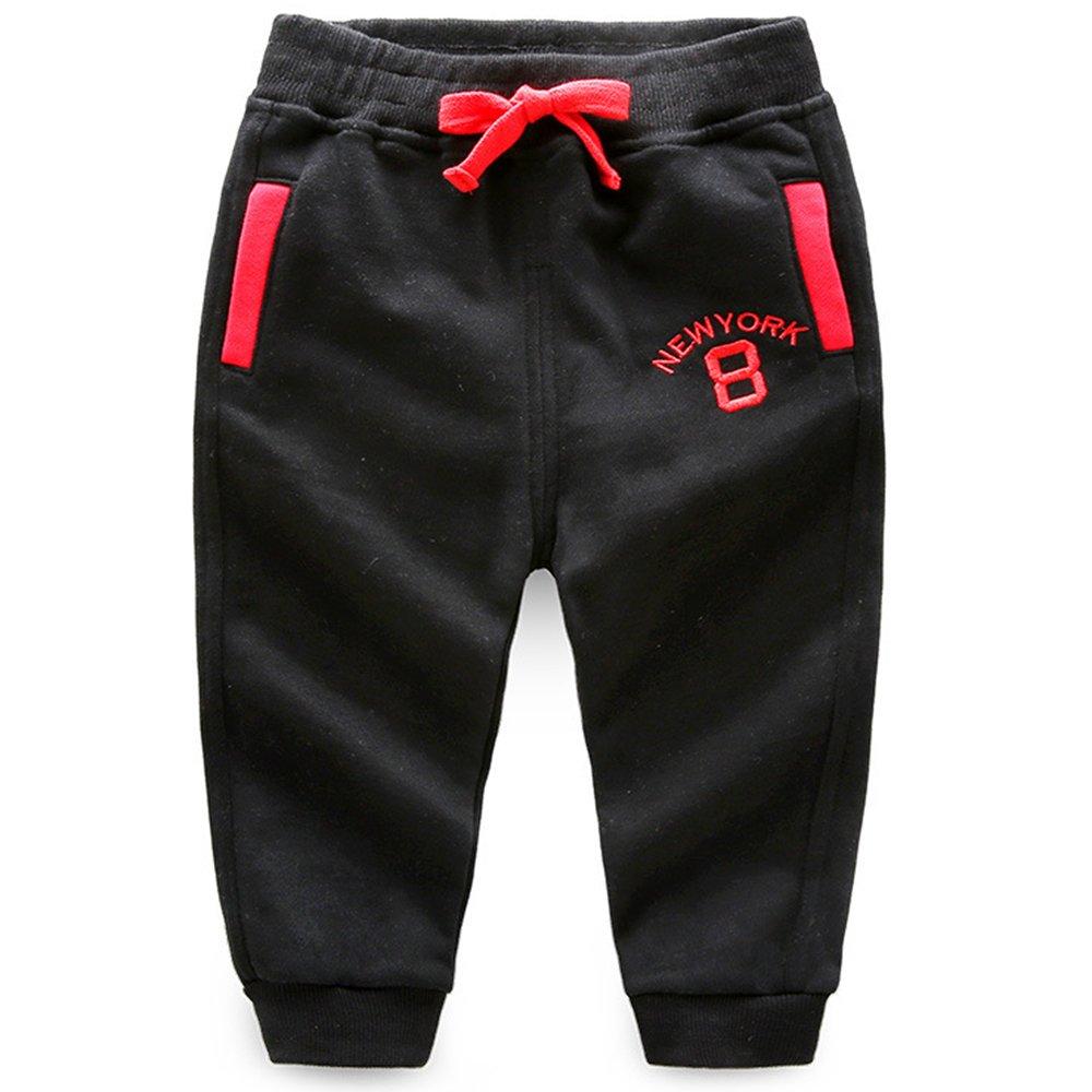 Ian/&Sophia Baby Boys Toddler Kids Color Block Pocket Pull-On Sweatpants