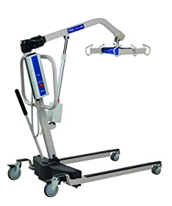 Invacare Reliant Heavy-Duty Battery-Powered Patient Lift with Manual Low Base, 600 lb. Weight Capacity, RPL600-1
