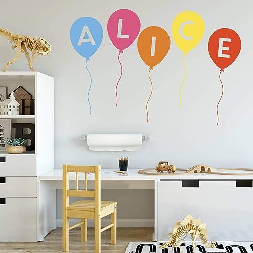 qualité fiable large sélection États Unis Sticker Mural Personnalisé Chambre pour Enfants - Ballons ...