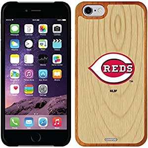 fashion case iphone 4s Madera Wood Thinshield Case with Cincinnati Reds Wood Emblem Design