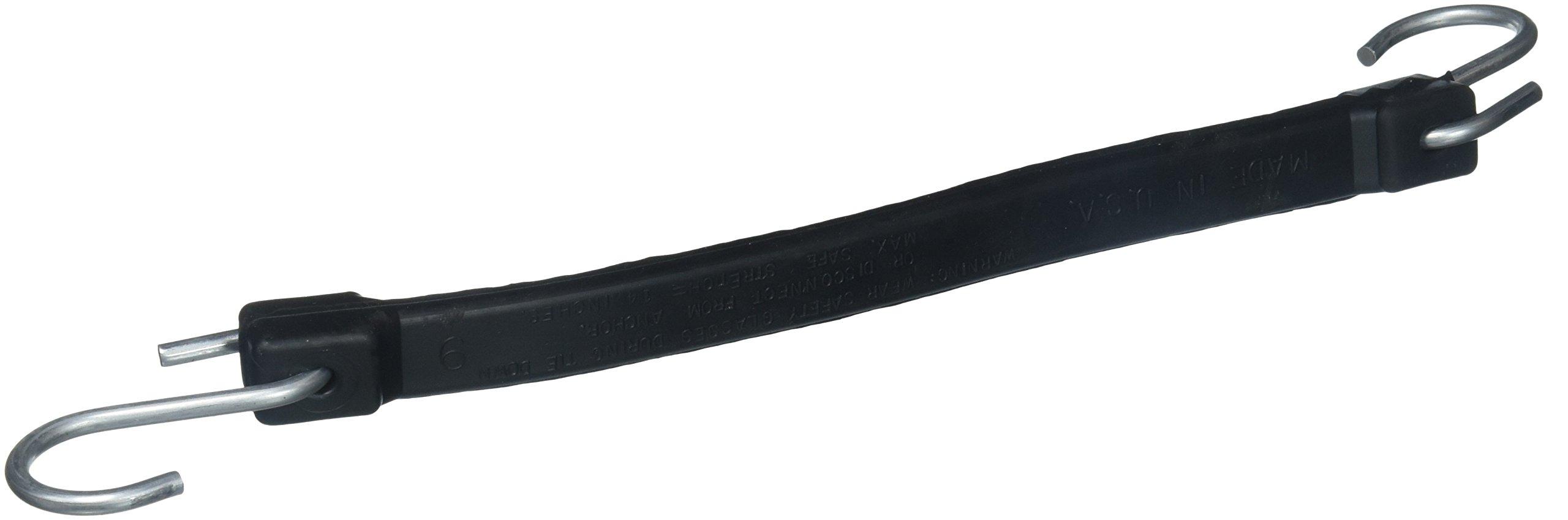 Bon 84-479 9-Inch Length Rubber Tie Straps, 10-Pack