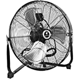 TPI Corporation CF-20 Commercial Workstation Floor Fan, 20 Diameter, 120 Volt