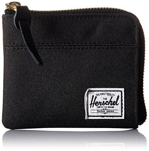 Herschel Mens Raven Wallet Navy Pebbled Leather RFID One Size