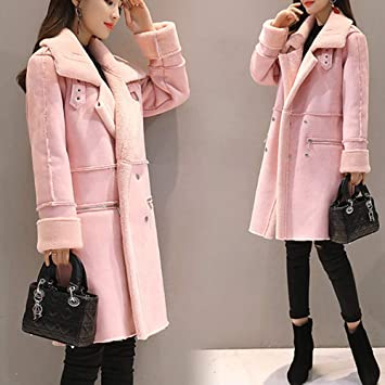 Amazon.com: Womens Coats Winter Besde Womens Fashion Casual Warm Lightweight Outwear Lapel Faux Fur Fleece Lined Shearling Coat Leather Jacket: Clothing