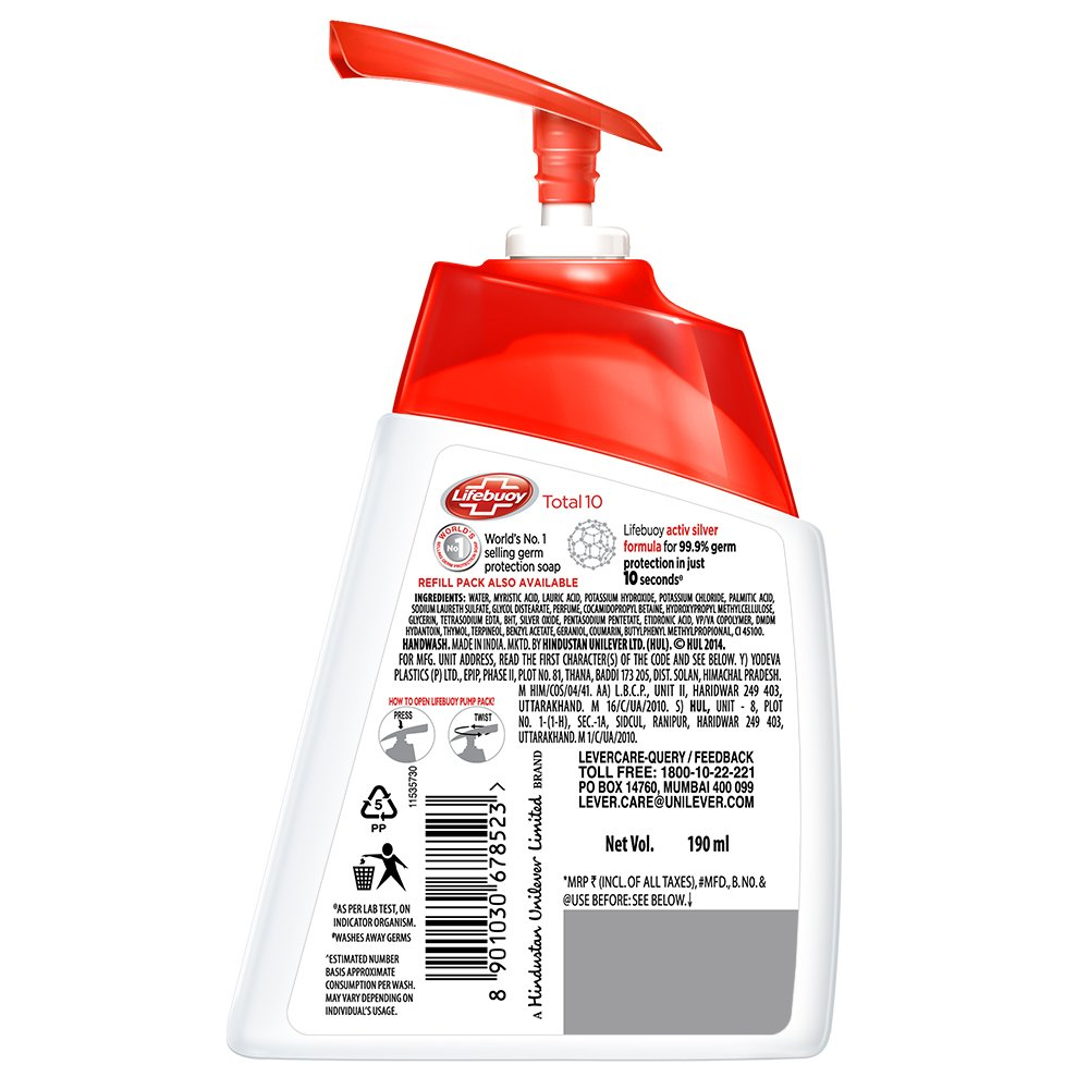 Lifebuoy Body Wash Active Fresh Refill 450ml Update Daftar Harga Bw Total10 Reff 250ml Total 10