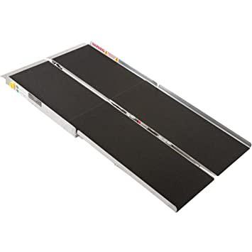 Amazon.com: Rampa portátil, plegable y de aluminio ...