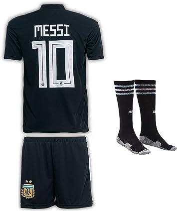 JTex Argentinien 2019-20 Messi - Camiseta de fútbol para niños (Tallas 2-14 años), diseño de Messi: Amazon.es: Ropa y accesorios