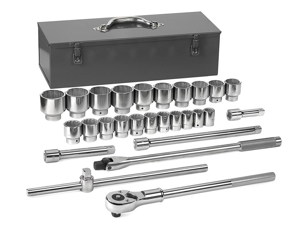 GearWrench 80880 27 pc. SAE Standard Socket Set, 0.75 in. Drive  B00HDTATKW