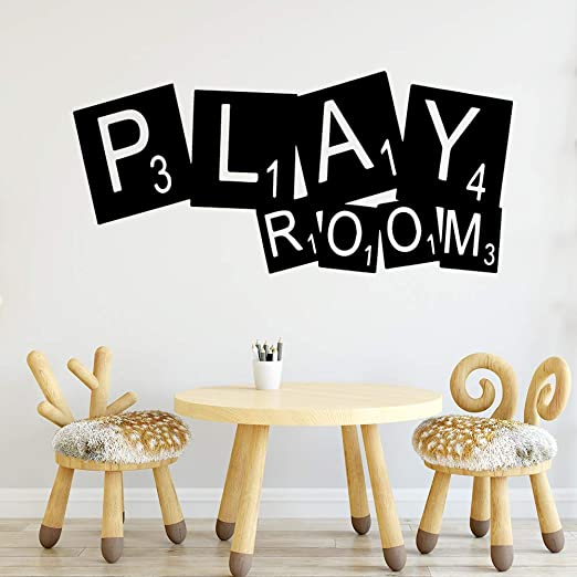 yaoxingfu DIY Play Room Pegatinas de Pared a Prueba de Agua ...