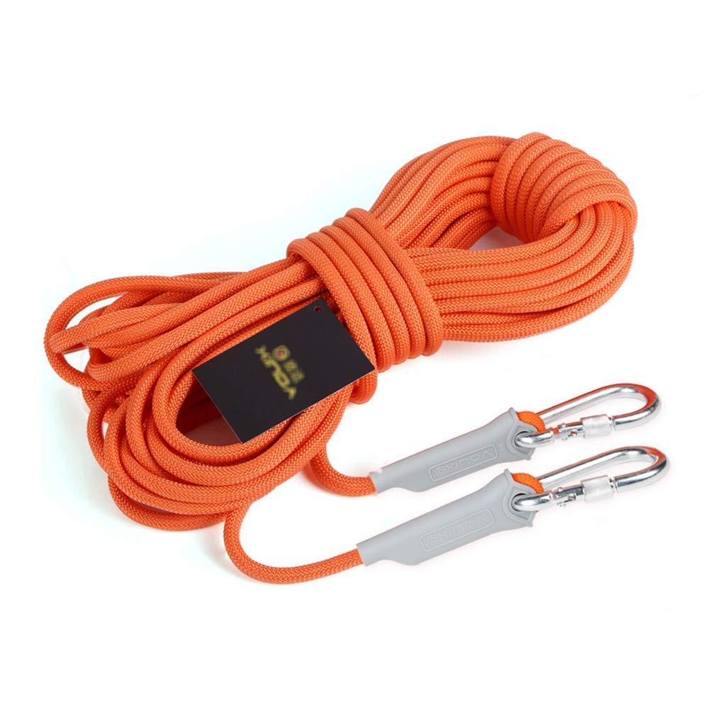 YXWssa Cordes La Corde de sécurité optionnelle de 8 mm d'épaisseur Peut Supporter Une Corde extérieure en polypropylène de 800 kg équipement d'escalade (Taille   8mm-20m) 8mm-40m