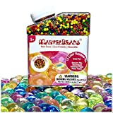 MarvelBeads Water Beads Rainbow Mix (Over Half Pound) for Kids Sensory Play and Spa Refill (Non-Toxic)