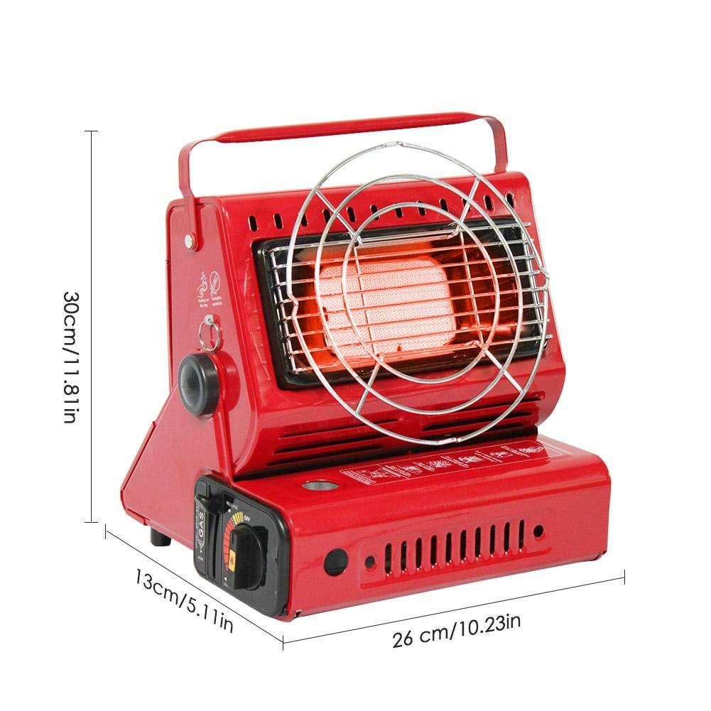 AITOCO Calentador de Gas Estufas de Campamento, Calentador ...