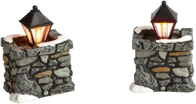 Department 56 Accessories for Villages Limestone Lamps