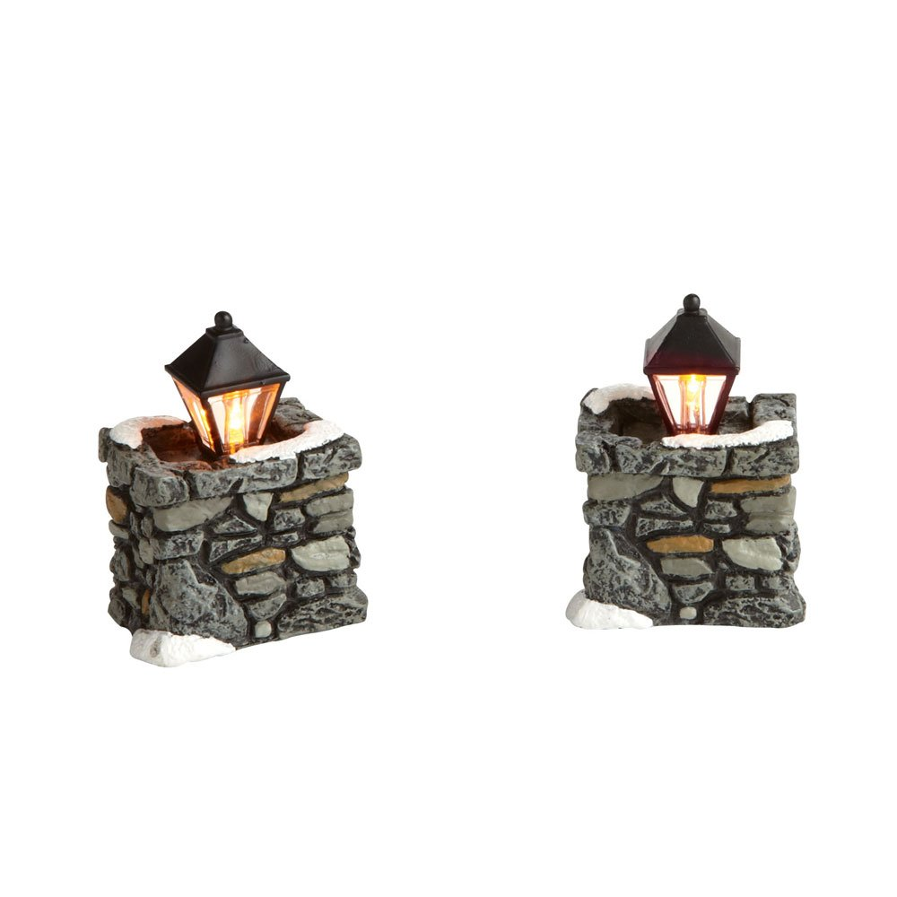 Department 56 Village Cross Product Limestone Lamps 4020257