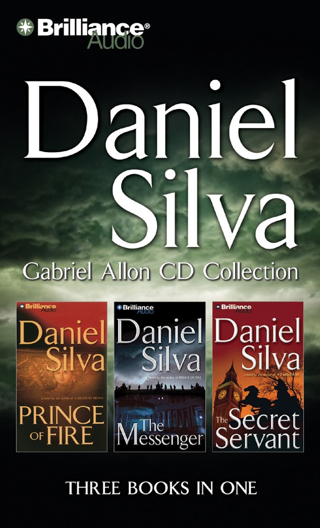 Download Daniel Silva Gabriel Allon CD Collection: Prince of Fire, The Messenger, The Secret Servant (Gabriel Allon Series) pdf epub