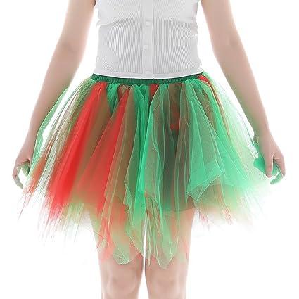 XNBZW Falda de ballet de fiesta corta con tutú y burbujas, falda ...
