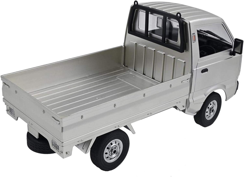 HSKB WPL D12 1//10 RC 2,4G Mini Milit/är Jeep Fernbedienung Auto Truck Armee 1:10 4WD RC Buggy Verfolgt R/äder Crawler Kettenrad Off-Road Auto RTR Rennfahrzeug Spielzeug Akku Geschenk