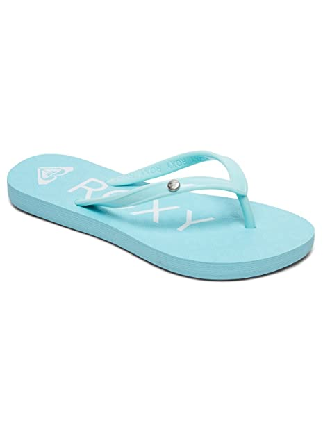 8f46679549e69a Girls Roxy Sandy II Flip Flops - Blue