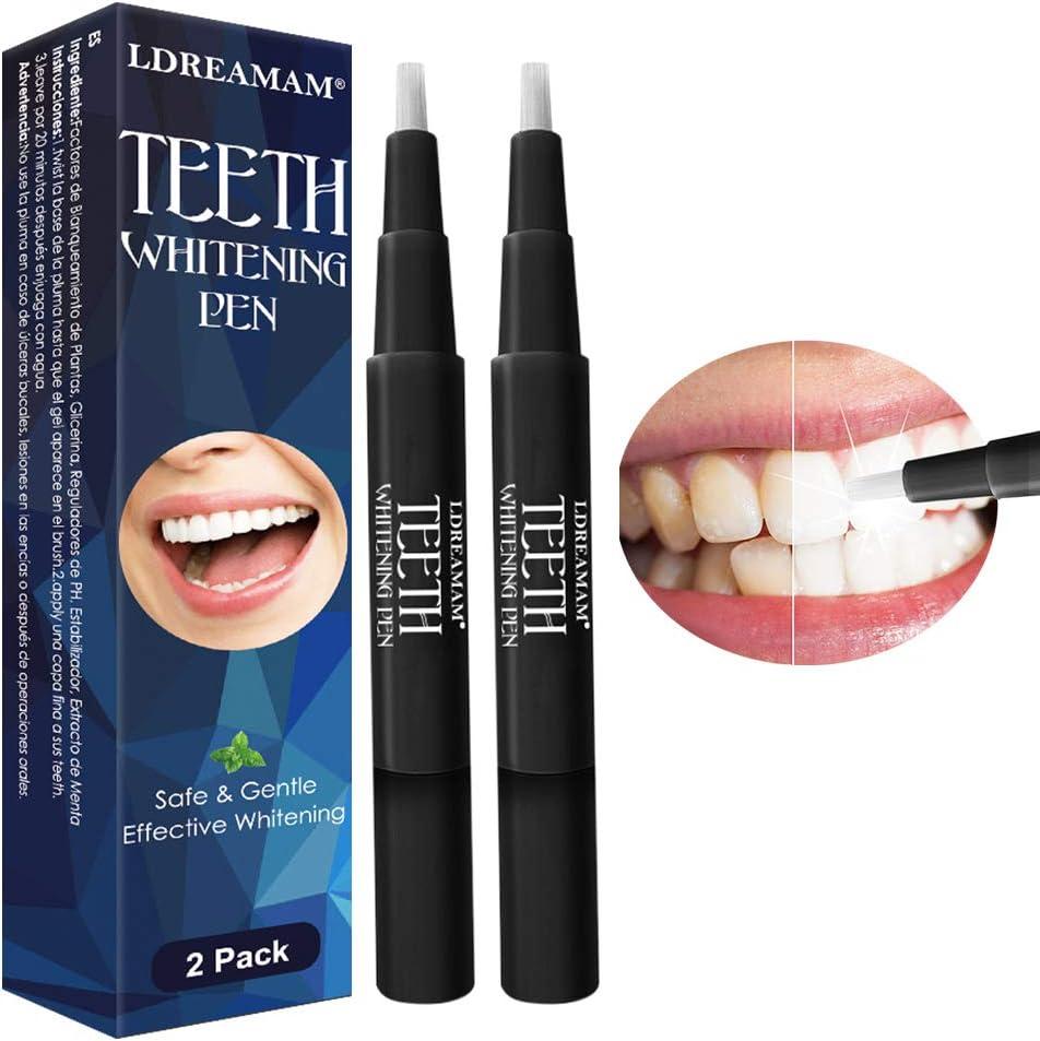 Platz 5 – Zahnaufhellung Stift,Zahnaufhellung Gel,Zahn Bleaching,Aufhellungsstift für Weiße Zähne & Natürlich Aufhellen effektiv Flecken.