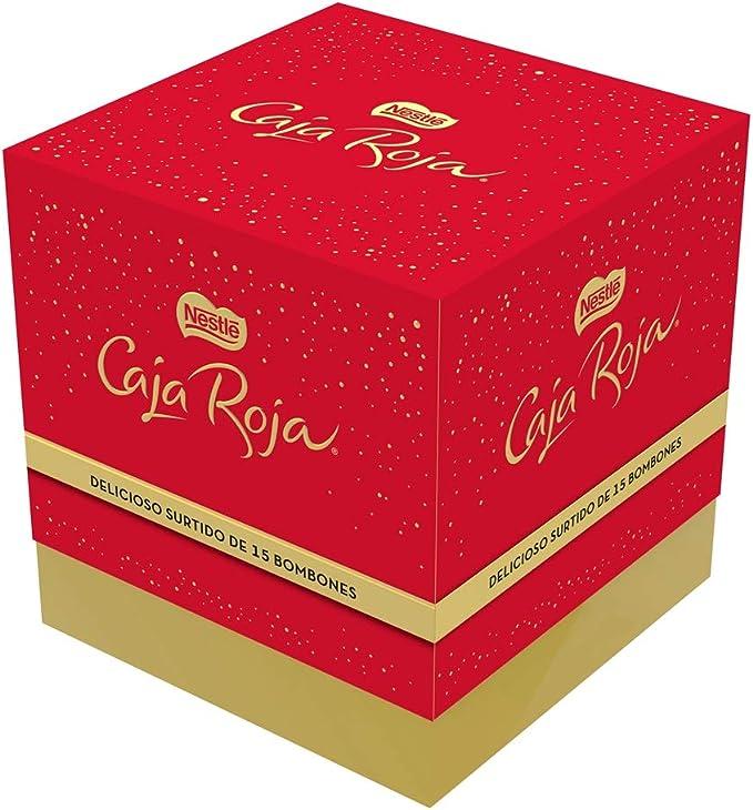 Nestlé Caja Roja Bombones de Chocolate - Cubo de bombones 150 gr: Amazon.es: Alimentación y bebidas