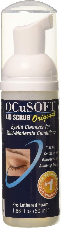 OCUSOFT LID Scrub Foam Size: 50 ML