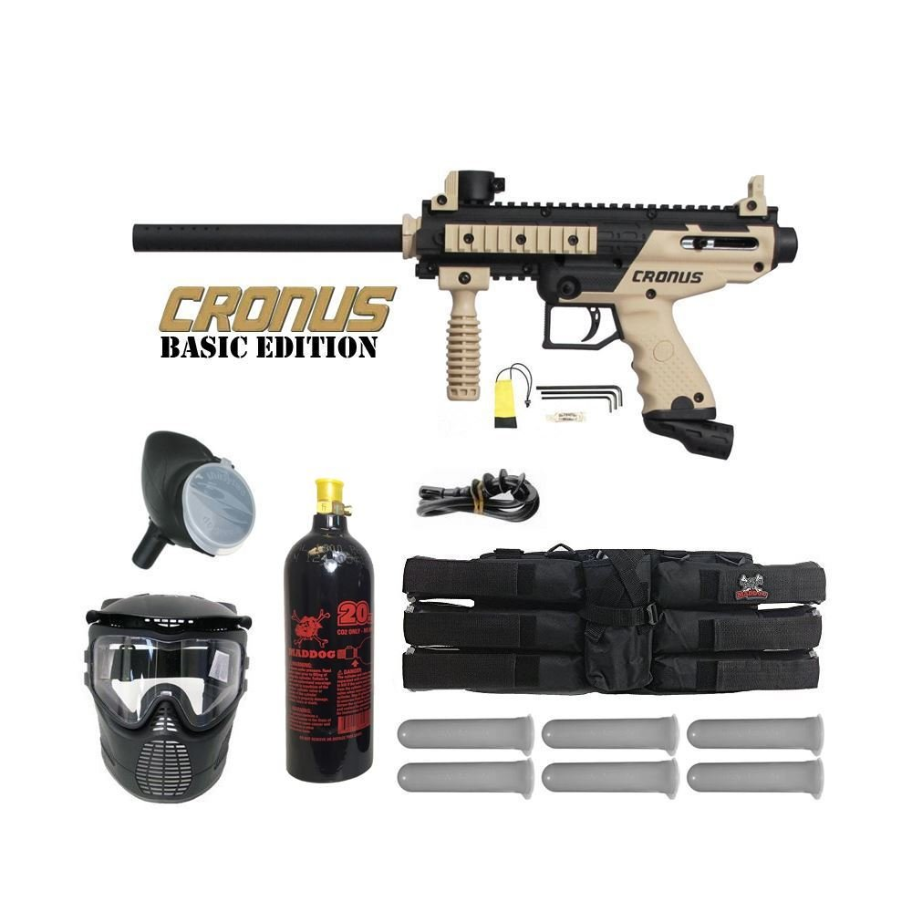 Tippmann Cronus Paintball Marker Gun Player Package by Tippmann