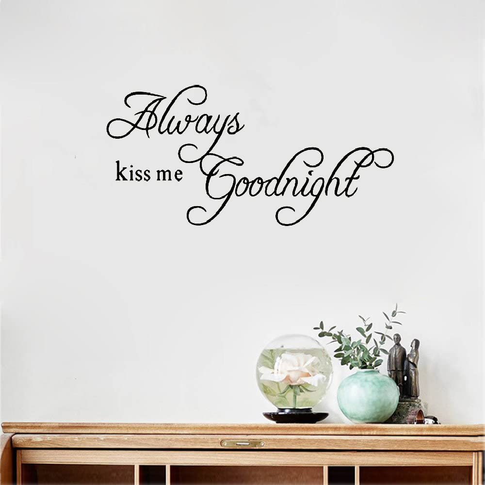 Removable Wall Stickers Decals KISS Removable Art Vinyl Mural for Living Room Bedroom Home Decoration