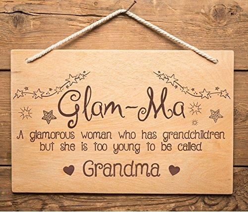 Divertido cartel de abuela, abuela, cumpleaños, día de la ...