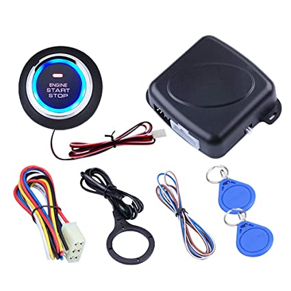 Amazon.com: 3T6B Smart RFID Sistema de alarma de coche: Car ...