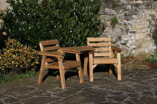 solid wood garden furniture patio set love seat table bench