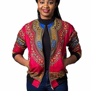doldoa Dashiki Frauen Langarm-Mode afrikanische drucken Dashiki ...