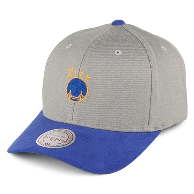 Gorra béisbol Hyper Golden State Warriors Mitchell & Ness-Gris ...
