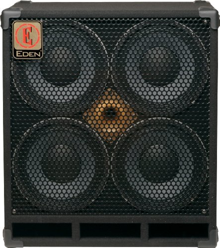 Eden D410XST8 D-Series 4 x 10 Inches 1000-Watts 8-Ohms Speaker Cabinet by Eden Electronics