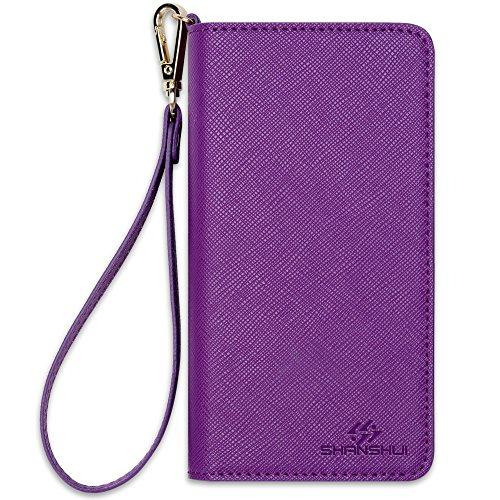 Wristlet SHANSHUI Wallet Samsung L Purple