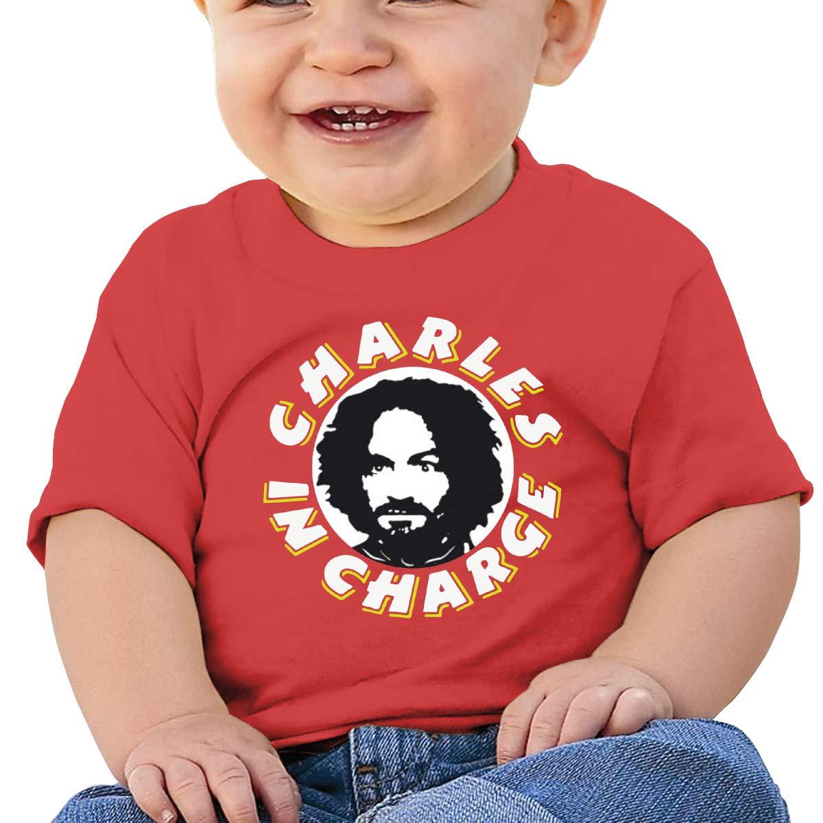 Kangtians Baby Charles-Manson Short Sleeve Shirt Toddler Tee