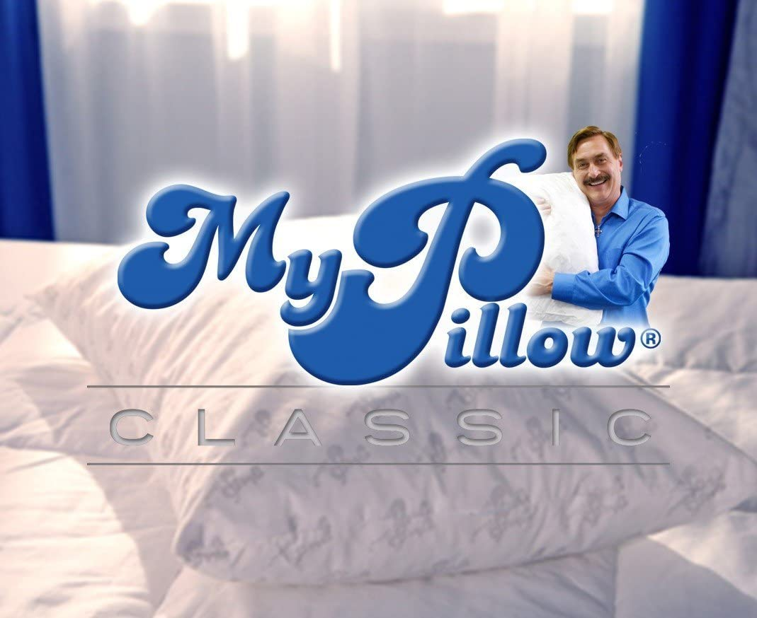 MyPillow Classic Standard/Queen, Medium/Firm - 2 Pack: Home & Kitchen