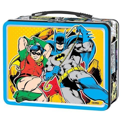Batman Metal Lunch Box (Batman Lunch Box With Thermos)
